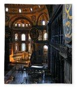 Hagia Sophia Fleece Blanket