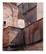 Hagia Sophia Walls 02 Fleece Blanket