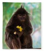 Hairy Monkey Fleece Blanket