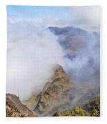 Haleakala Mists Fleece Blanket