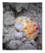 Half Buried Shell Fleece Blanket