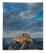 Half Dome Evening Fleece Blanket