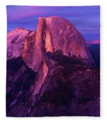 Half Dome Glow Fleece Blanket