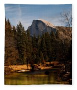 Half Dome Spring Fleece Blanket