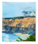 Half Moon Bay 2 Fleece Blanket