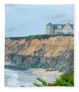 Half Moon Bay Fleece Blanket