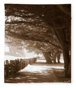Half Moon Bay Pathway Fleece Blanket