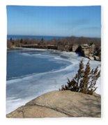 Icy Quarry Fleece Blanket