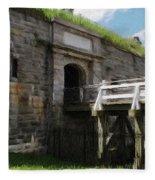 Halifax Citadel Fleece Blanket