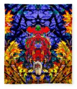 Hall Of The Color King Fleece Blanket