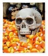 Halloween Candy Corn Fleece Blanket