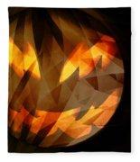 Halloween Moon 2 Fleece Blanket