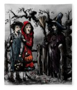 Halloween Night Fleece Blanket