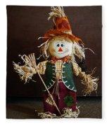 Halloween Scarecrow Fleece Blanket