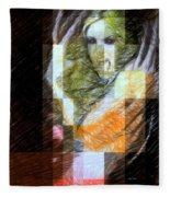 Halloween Scream Fleece Blanket