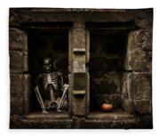 Halloween Skeleton Fleece Blanket