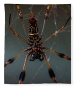 Halloween Spider Fleece Blanket