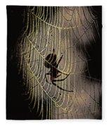 Halloween - Spider Fleece Blanket