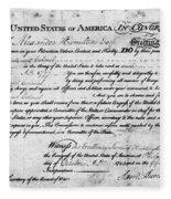 Hamilton: Appointment, 1777 Fleece Blanket