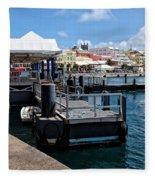 Hamilton Dock Fleece Blanket