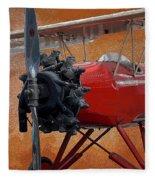 Hamilton Standard Propeller Fleece Blanket
