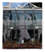 Hampshire County Cricket Glass Pavilion Fleece Blanket