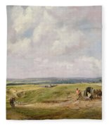 Hampstead Heath, C.1820 Fleece Blanket