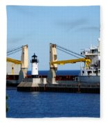 Han Xin Ship Fleece Blanket