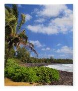 Hana Beach Fleece Blanket