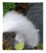 Hana Waterfall Fleece Blanket