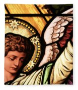 Hand Of The Angel Fleece Blanket