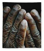 Hands Of Time 2 Fleece Blanket
