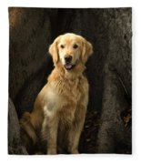 Handsome Boy Fleece Blanket
