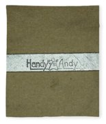 Handy Andy Wrench Fleece Blanket