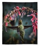 Hang Time  Fleece Blanket