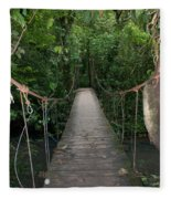 Hanging Bridge Fleece Blanket