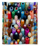 Hanging By Many Threads Fleece Blanket