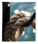 Hanging Loose Fleece Blanket