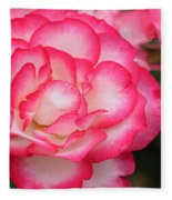Hannah Gordon Floribunda Rose Fleece Blanket