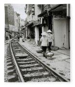 Hanoi Lifestyle Fleece Blanket