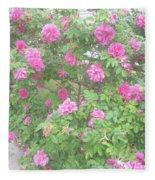 Hansa Roses Fleece Blanket