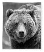 Happy Bear Fleece Blanket