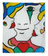 Happy Days Fleece Blanket