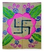 Happy Dhanteras Fleece Blanket