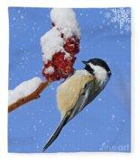 Happy Holidays... Fleece Blanket