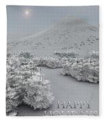 Happy Holidays Fleece Blanket