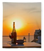 Happy Hour Fleece Blanket
