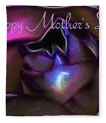 Happy Mothers Day 01 Fleece Blanket