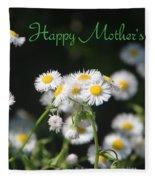 Happy Mother's Day 03 Fleece Blanket