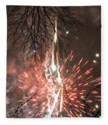 Happy New Year 2014 Three Fleece Blanket